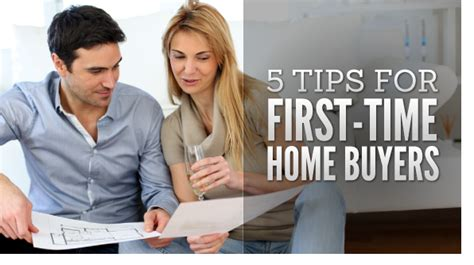 tips for time homebuyers