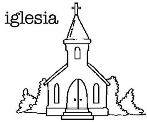 imagenes de iglesias catolicas para colorear dibujos infantiles de iglesias para colorear colorear