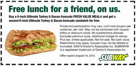 subway printable coupons free regular sub purchase subway printable coupons printable coupons