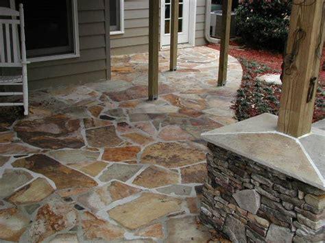 11 amazing stone patios page 2 of 15 family handyman stone patio landscape ideas pinterest