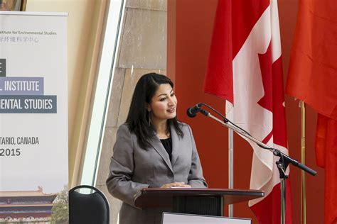 new politics mp trent alumna maryam monsef is our new mp arthur