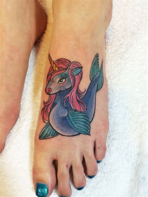 small unicorn tattoo seahorse images designs