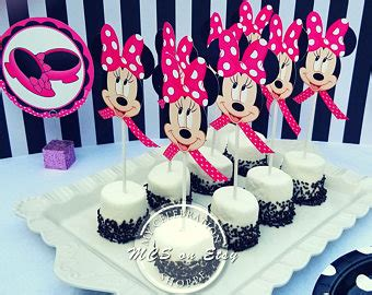 Balon Minnie Mouse Cupcakes by Minnie Mouse Etsy
