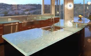 Glass Kitchen Countertops by 6 Unexpected Kitchen Countertop Trends For 2014