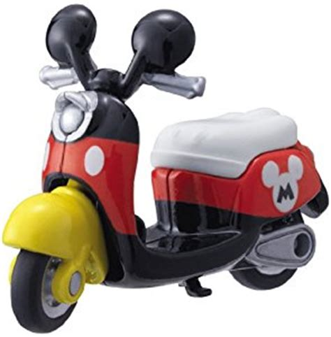 Tomica Dianey Motors Mickey Mouse tomica disney motors dm 13 scooter bike mickey mouse toys