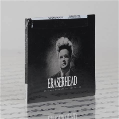 Eraserhead Soundtrack Vinyl Reissue - david lynch alan r splet eraserhead soundtrack boomkat
