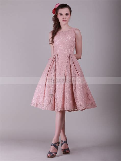lace a line dress with flouncy skirt 0113997