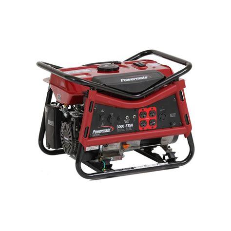 3000 watt generator home depot