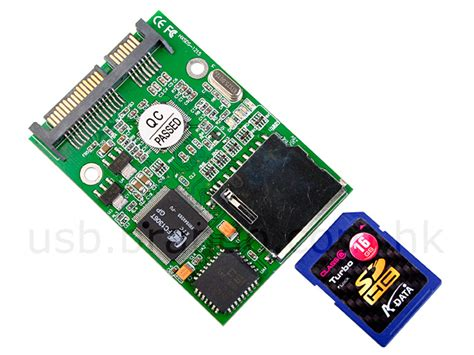 Sata To Sd Card Adapter Card sd hc to sata adapter