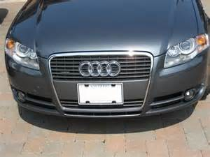 b7 a4 front license plate cover solution audi forum