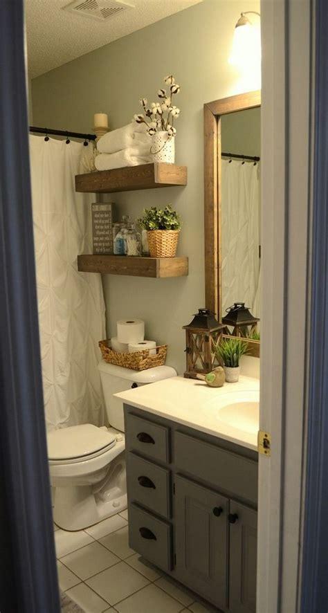 awesome farmhouse small bathroom remodel decor ideas