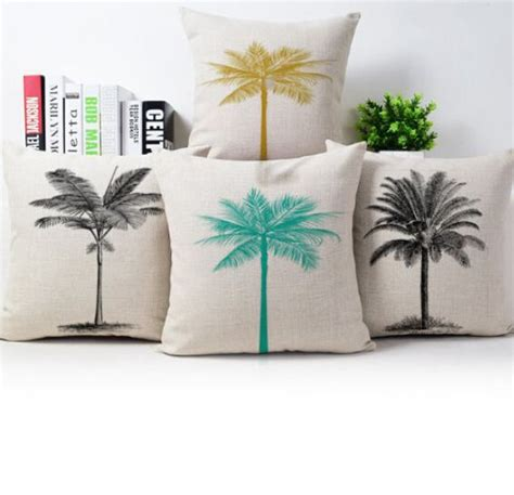 palm tree sofa tropical living room with white upholstered