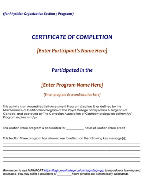 certificate of organization template tools templates