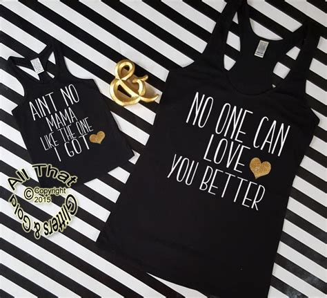 mommy   daughter shirts funny aint  mama tanks tops