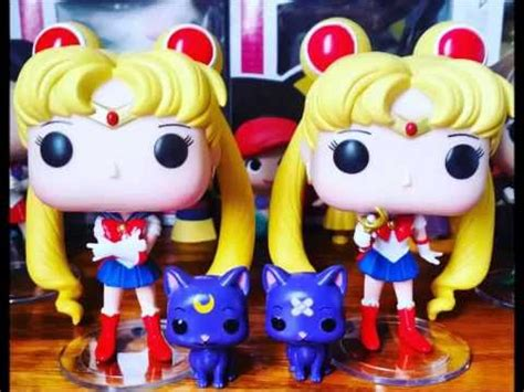 Funko Pop Sailor Moon With Bishoujo Senshi Sailor Moon funko pop sailor moon set