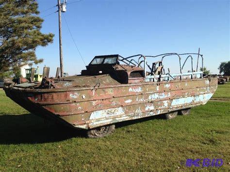 duck boat for sale mn 1944 general motors truck dukw deuce 6x6 hibious duck