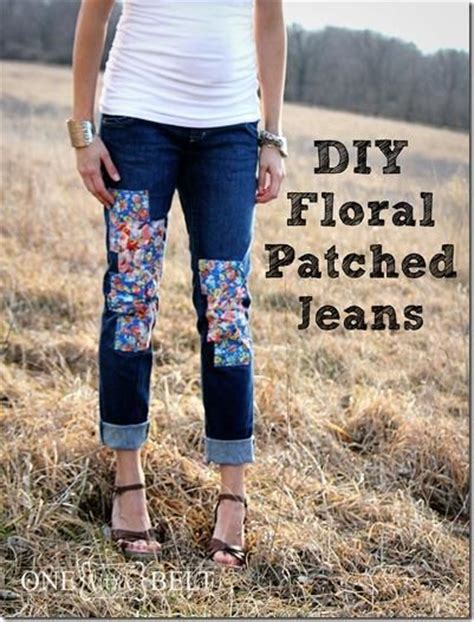 Knee Patch Shorts gt diy knee patches diy floral patched diy