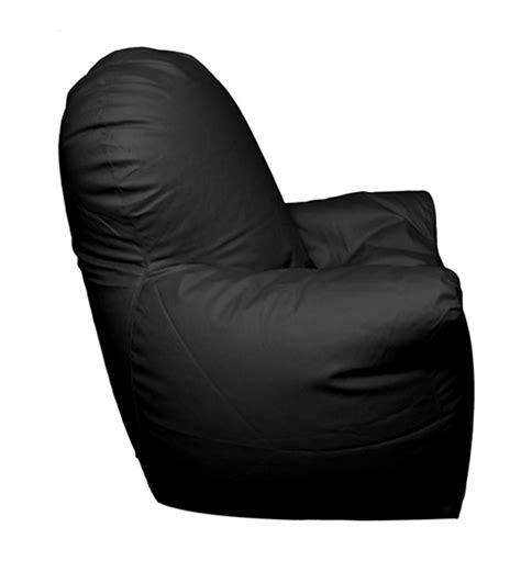 Black Bean Bag Chair Pebbleyard With Arms Black Bean Bag Chair Cover