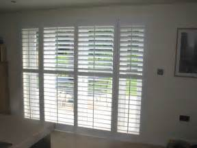 shutters for windows and patio doors interior