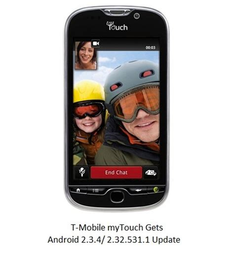 t mobile android update t mobile mytouch android 2 3 4 2 32 531 1 software update available now gadgetian