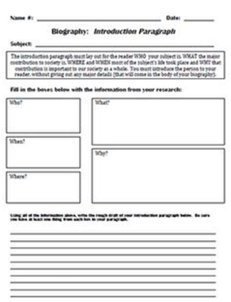Bio 260 Unit Outline by How To Write A Biography For Template Search School Biography Unit