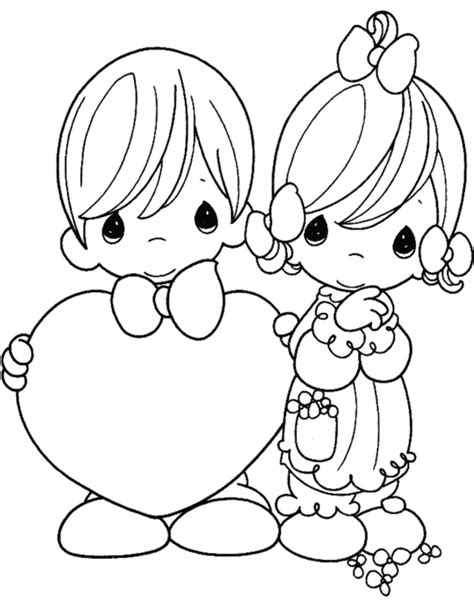 excellent valentine day coloring pages sheets with cute