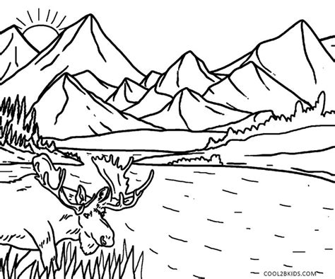 printable coloring pages nature printable nature coloring pages for cool2bkids
