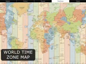 us time zone map world atlas world map for on the app store