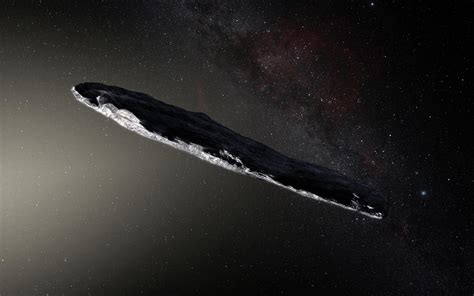 is there color in space that interstellar asteroid is pretty strange could it be