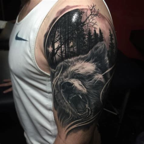 world best tattoo design dopest wolf tattoos in the world amazing