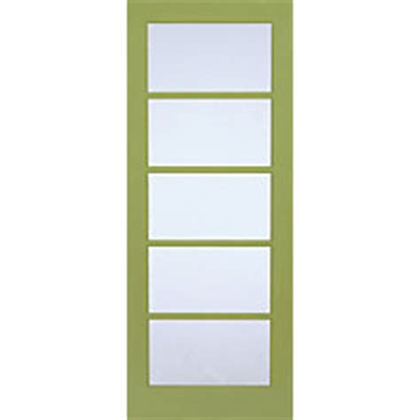 milette 24 inch x 80 inch primed 5 lite door with privacy