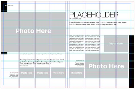 template layout photo five steps to laying out a yearbook page how to create