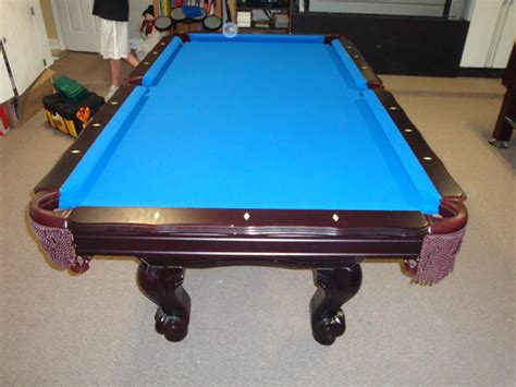 new orleans saints pool table w e m distributors before after 2 of 2