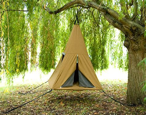 swinging tent treepee the treehouse for when you also want a swing a