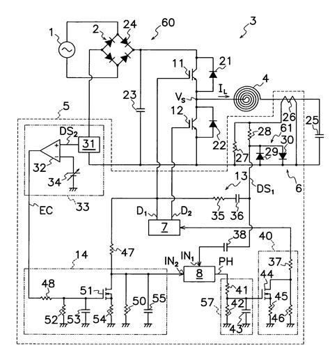 induction stove diagram induction cooker circuit diagram using lm339 circuit and