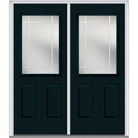Milliken Millwork 66 In X 81 75 In Classic Clear Glass Clear Glass Doors