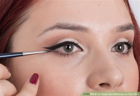Kuas Make Up Makeover how to apply eye makeup on fair skin 9 steps with pictures