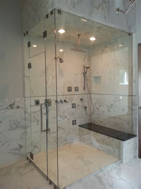 Frameless Shower Doors Denver Frameless Shower Doors Contemporary Bathroom Denver By Denver Glass Interiors Inc