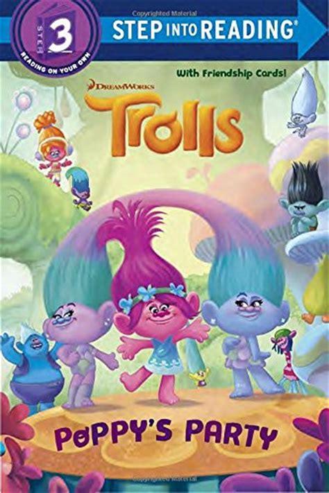 dreamworks trolls poppy lends a hugs book books poppy s dreamworks trolls step into reading