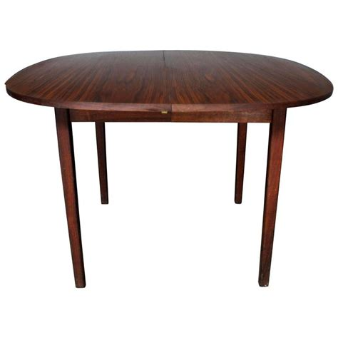 Oval Shaped Dining Tables Rosewood Squircle To Oval Shaped Expanding Dining Table Mid Century Modern For Sale At 1stdibs