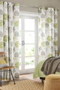 where to buy bedroom curtains buy green floral blackout eyelet curtains from the next uk