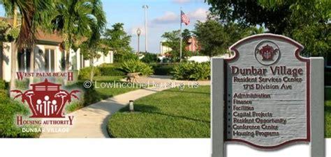 Dunbar Village West Palm Beach Public Housing 1715 West Palm Housing Authority