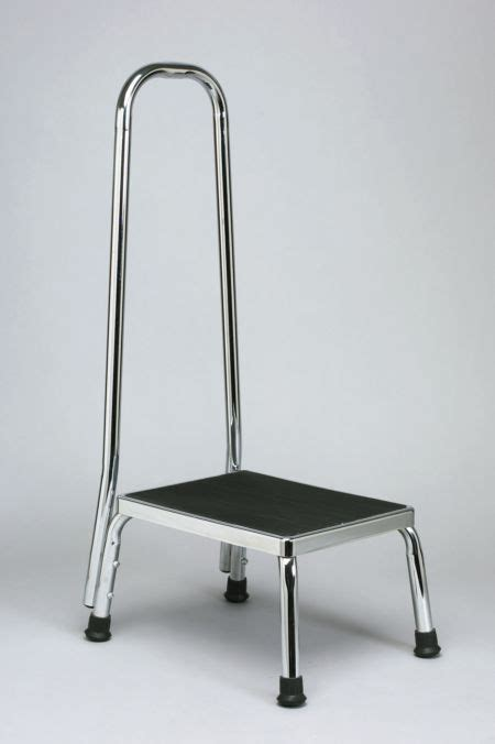 One Step Stool With Handrail by Step Stool With Handrail