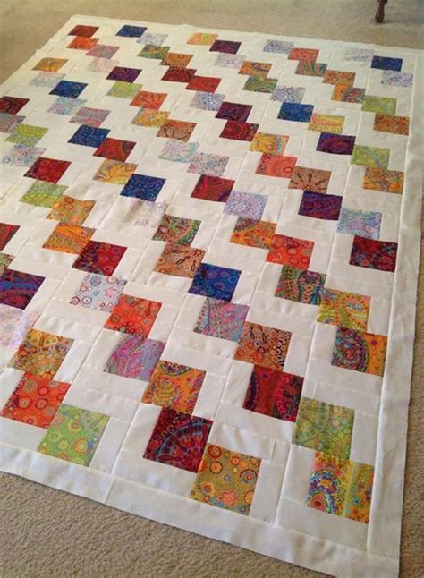 Falling Charms Quilt Pattern by Charm Quilt Scraps Quilt And Charms On