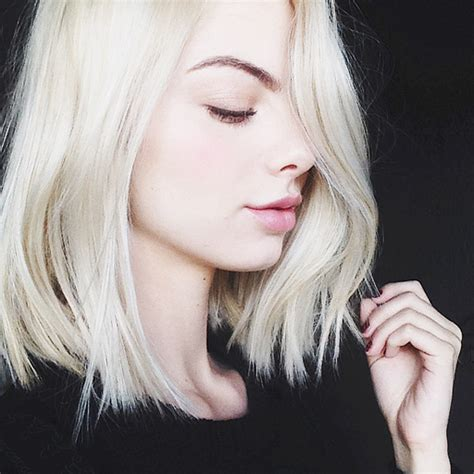 long bob haircut pale skin the beauty department your daily dose of pretty
