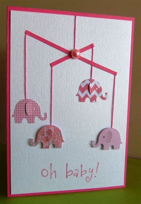Handmade Baby Cards - best 25 baby cards ideas on
