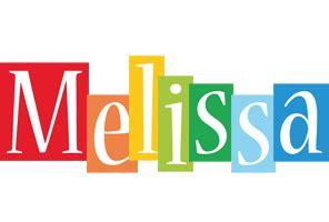 melissa logo name logo generator smoothie summer