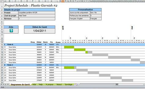 comment créer un diagramme de gantt dans excel diagramme de gantt suivez le guide de la planification