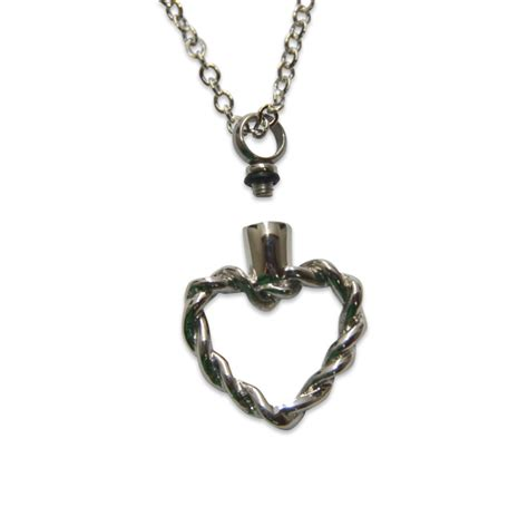 ashes jewelry cremation necklace ashes necklace silver