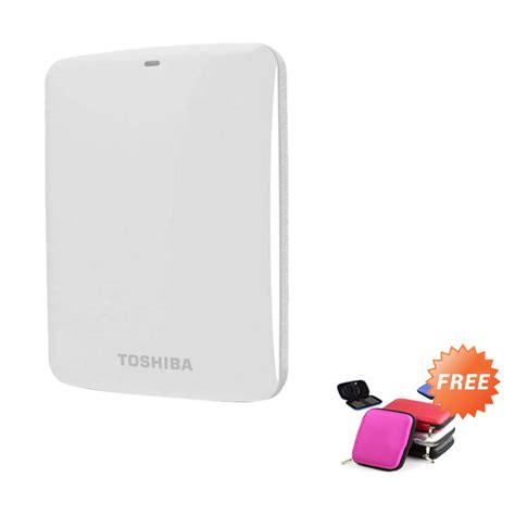 Harddisk External Toshiba Terbaru jual toshiba canvio basic putih harddisk external 1 tb